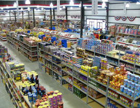 The Fireworks Superstore-inside