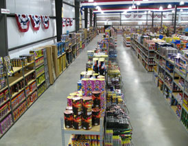 The Fireworks Superstore-aisle